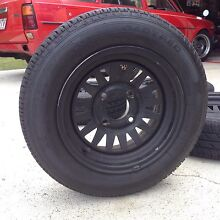 """Set of 4 13x4.5"""" wheels 4x114.3 Clontarf Redcliffe Area Preview"""