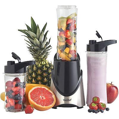 VonShef Sports Blender Smoothie Protein Shake Maker 300W Personal Crusher Bottle