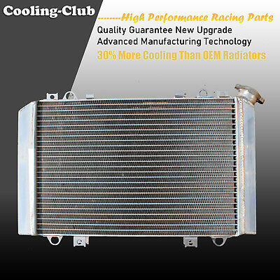 Fit 01-08 Kawasaki Mule 3000 3010 3020 KAF 620 950 2 Row ATV Aluminum Radiator