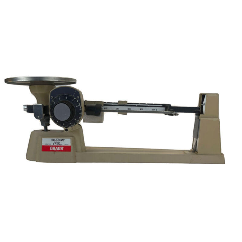 OHAUS Dial-O-Gram 2610g Triple Beam Balance Scale with Fine Adjustment Dial