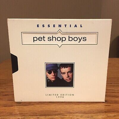 Essential Pet Shop Boys Limited Edition (CD, Mar-1998, EMI-Capitol -