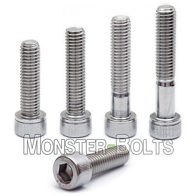 M6 Stainless Steel Socket Head Cap Screws A2 18-8 Metric Din 912 1.0 Coarse