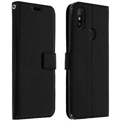 Funda Libro Billetera Vintage para Xiaomi Mi A2 - Negro