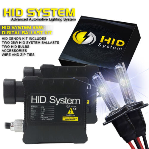 Xenon HID System KIT 15000K Red Purple 880 H4 H10 H13 HB1 HB3 HB4 9007 5202 H16