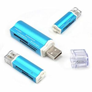 3x 32GB USB 2.0 All in 1 High Speed Memory Card Reader for Micro SD TF SDHC MMC