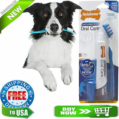 Toothbrush Finger Brush Toothpaste Dental Kit For Pet Dog Oral Health Care