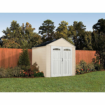 Rubbermaid 7x7-Feet X-Large 325-Cubic Feet Outdoor Storage Shed | 5H80
