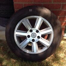 (H8) Holden VY VZ rims and tyres 215/60/16 Kelmscott Armadale Area Preview
