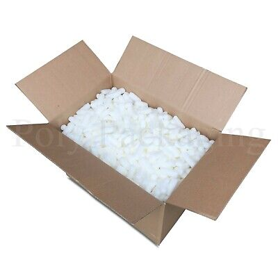 1.5 Cubic Feet of ECOFLO LOOSE FILL Biodegradable/Void Fill/Packing Peanuts