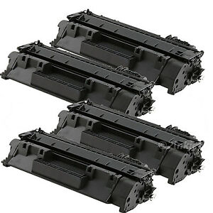 4 PK CE505A Toner Cartridge For HP CE505A/05A Laserjet P2035 P2055