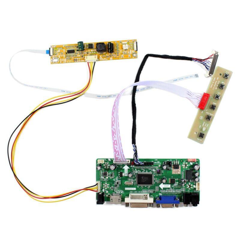HD MI DVI VGA LCD Controller Board For 18.5 in 1366x768 LM185WH2-TLA1 LCD Panel