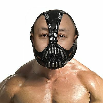 Batman Dark Knight Cosplay Bane Mask Halloween Party cosplay Costume