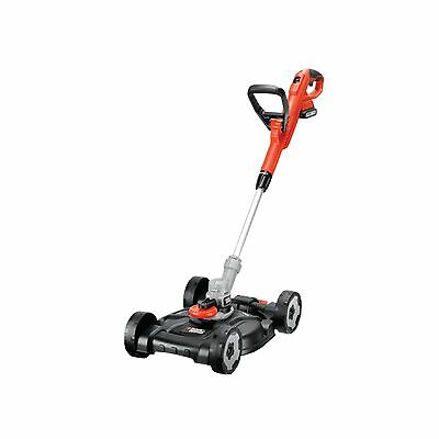 BLACK+DECKER Akku-Multi-Trimmer STC1820CM, Rasentrimmer, orange