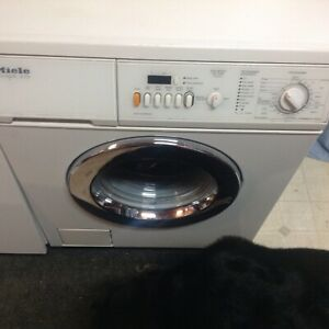 Miele washer and dryer