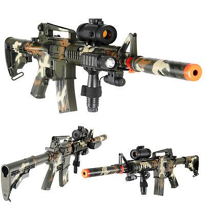 AirSoft Double Eagle M4 AEG Replica Automatic Assault Rifle m83A2 M83 Gun CAMO