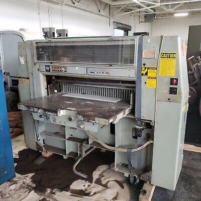 Lawson 35-12 Width X 4-12 Thick Regent Iii Paper Cutting Machine Type 115