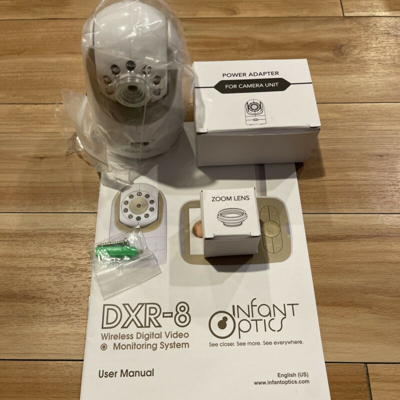 NEW Infant Optics Add-On Camera Unit Infant Optics Dxr-8 cord CAMERA ONLY no box