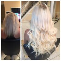 PROFESSIONAL HAIR EXTENSIONS! PROMOTION!