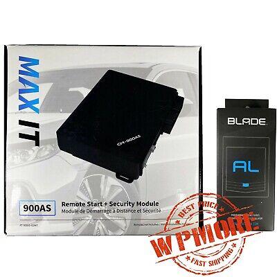 Firstech Compustar FT 900AS CONT MAX IT  + iDatalink BLADE AL Bypass Module