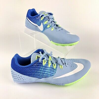 new concept 378db ac1c5 Nike Zoom Rival S Women Running Track Spikes 806558 401 Blue Size 10 NO  SPIKES