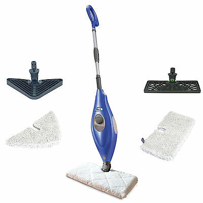 (Shark Deluxe Steam Pocket Mop and Multi Surface Floor Cleaner, Blue | S3501)