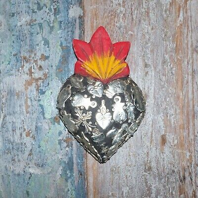 Mexican Milagro Heart Decoration Mini L