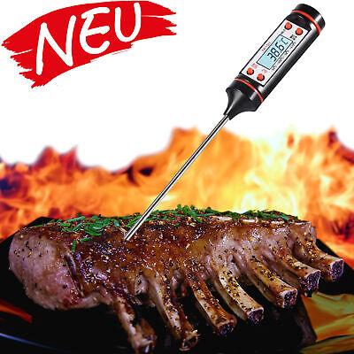 Grillthermometer digital Fleischthermometer kochen Küchen Thermometer ❤️️