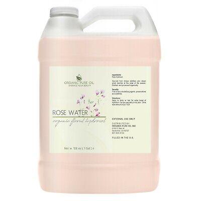 Hydrosol Facial Mist - ROSE WATER FACIAL 100% NATURAL BULGARIAN FLORAL ROSEWATER TONER HYDROSOL MIST