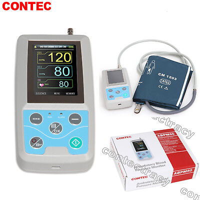 Abpm50 24 Hours Automatic Ambulatory Blood Pressure Monitor With Adult Cuffusa