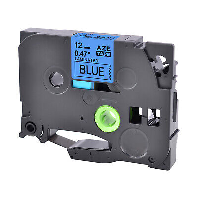 1pk Tze531 Tz531 Black On Blue Label Tape 12mm 12 For Brother P-touch Pt-310b