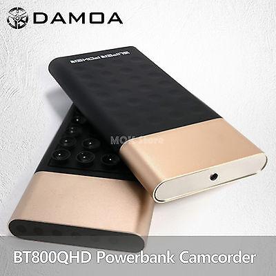 DAMOA BT800QHD PowerBank Type 4K UHD Spy Hidden Camcorder Camera Motion 32GB