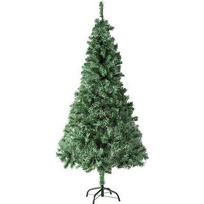 Árbol de Navidad Artificial Arbol Plástico Abeto Interior 533 Ramas 180cm Verde