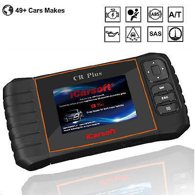 iCarsoft CR Plus OBDII Multi System Scan Tool