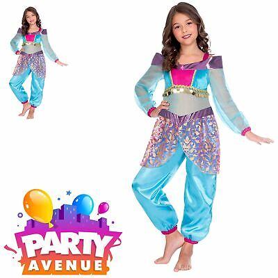 Fancy Dress Costume Childrens Princess  (Girl Genie Kostüme)