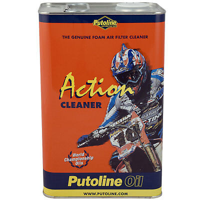 Putoline Action Fluid 1 Litre Filter Oil For Foam Air Filters Filter Motocross