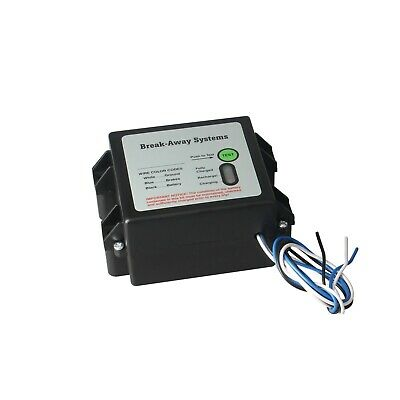 Trailer Breakaway Systems Electric  - Battery Box/case With Indicator Light New ()