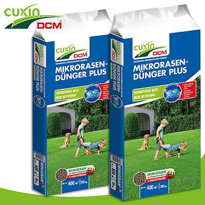 Cuxin Dcm 2 x 20 KG Mikrorasen-Dünger Plus Moss Free Growth Nutrients Fertilizer