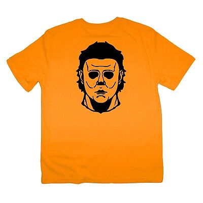 Halloween Michael Myers angry scary pumpkin face 8 eve Shirt Kids and S-XXXL  (Halloween Michael Myers Kid)