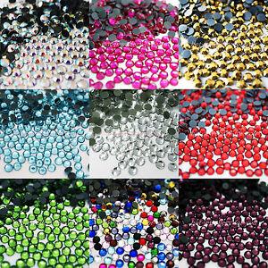 DMC-GLASS-HOT-FIX-RHINESTONE-IRON-ON-DIAMANTE-CRYSTAL-GEM-Trainers-Shoes-Bling