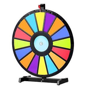 "24"" Editable Tabletop Prize Wheel Fortune Spinning Game Carnival Croydon Burwood Area Preview"