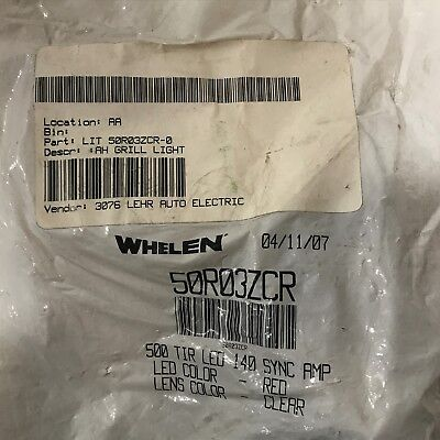 New Whelen 500 Series Tir6 Super-led - Blue - 50r03zcr