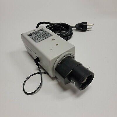 Panasonic Wv-cp280 Color Cctv Video Camera Wrainbow Day Night Focus Lens