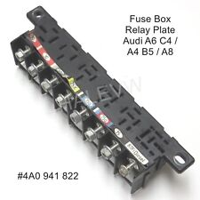 Audi 100 A6 C4 S6 S4 UrS4 Fuse Box Relay Plate Socket Panel Junction  4A0941822 | eBay | Audi A6 C4 Fuse Box |  | eBay