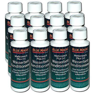 12x 118ml Blue Magic Wasserbett Conditioner Konditionierer Wasserbetten Pflege