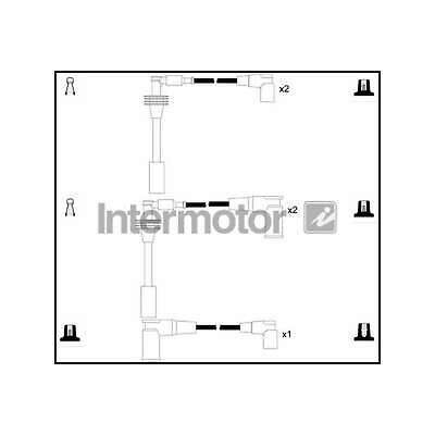 Genuine Intermotor Ignition Cable Kit - 76162
