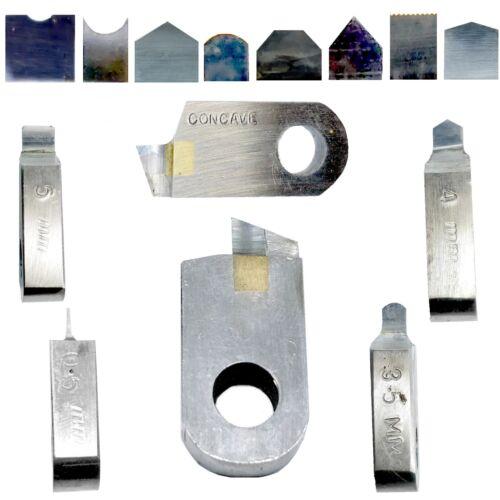 Posalux Carbide Tools Lathe Faceting Machine  Wedding Bands H-Rnd,Dome,Flat,V