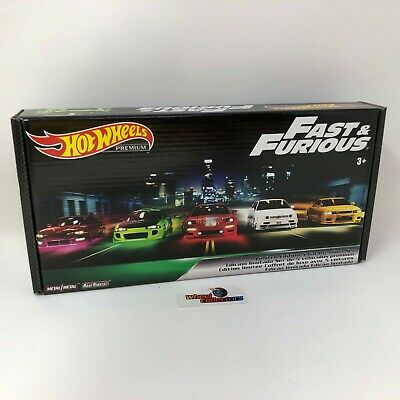 Box Set Fast & Furious Original Fast Factory Sealed *  Hot Wheels * WD2