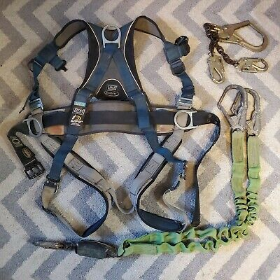 Sala Exofit Medium Fall Arrest Safety Harness With Lanyard And P Hook