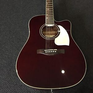 BRAND NEW IBANEZ ACOUSTIC ELECTRIC GUITAR DEEP BLACKBERRY Malaga Swan Area Preview