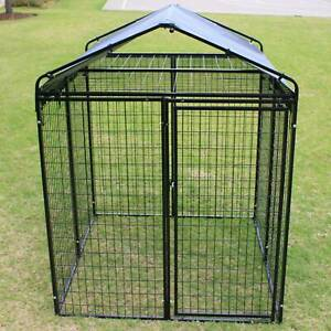 Super HeavyDuty Dog Fence with Gate Cat Enclosure Pen Pet Playpen PetJ